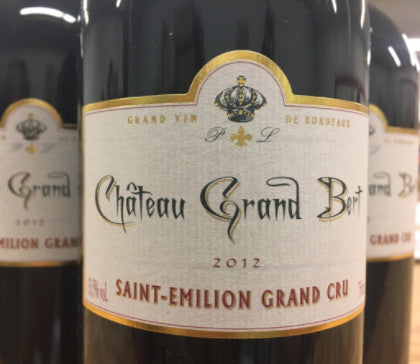 2012 Chateau Grand Bert