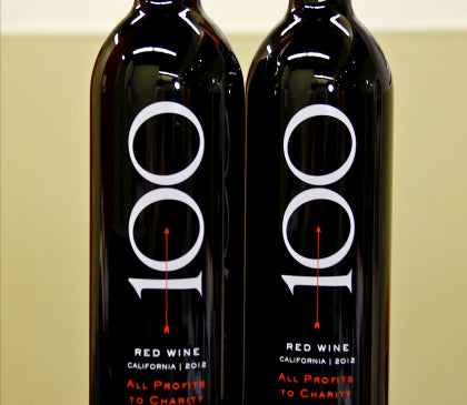"2013 ""100 Percent Wine"" red blend"