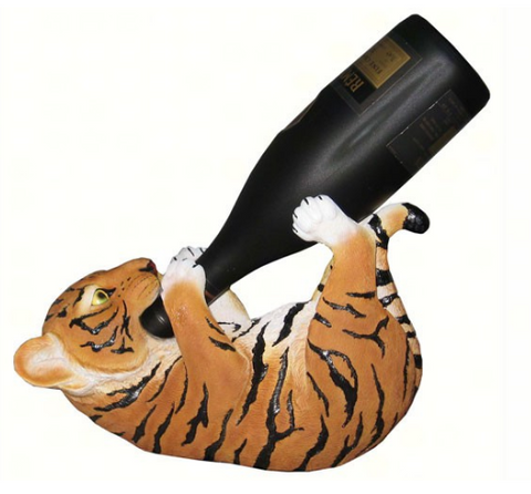Tiger Wine Holder