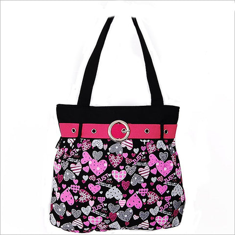 Trendy Heart Tote - All That Glitters