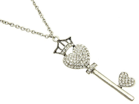 Key Charm Necklace - All That Glitters
