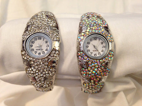 Rhinestone Watch - All That Glitters