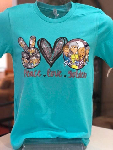 Peace Love Golden Girls T-Shirt