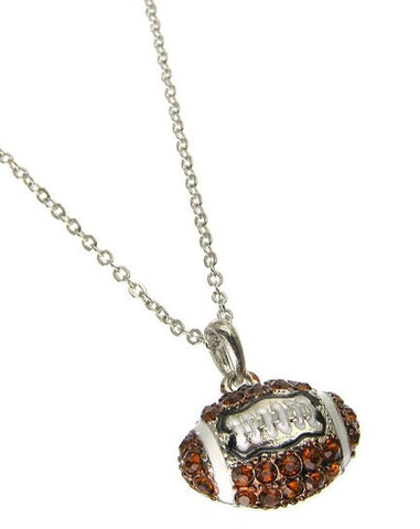Football Necklace - All That Glitters
