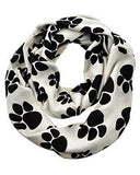 Paw Print Infinity Scarf - All That Glitters - 1