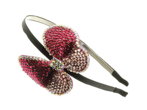 Rhinestone Bow  Hairband - All That Glitters