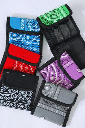 Bandana Wallet - All That Glitters