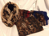Leopard Infinity Scarf - All That Glitters - 1