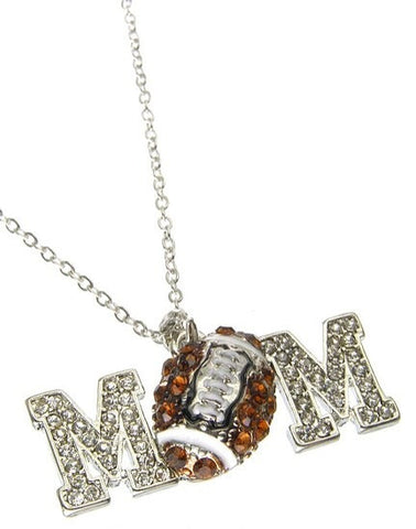 Football Mom Necklace - All That Glitters