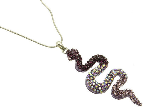 Snake Pendant Necklace - All That Glitters