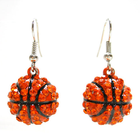 Basketball Dangle Earrings - All That Glitters