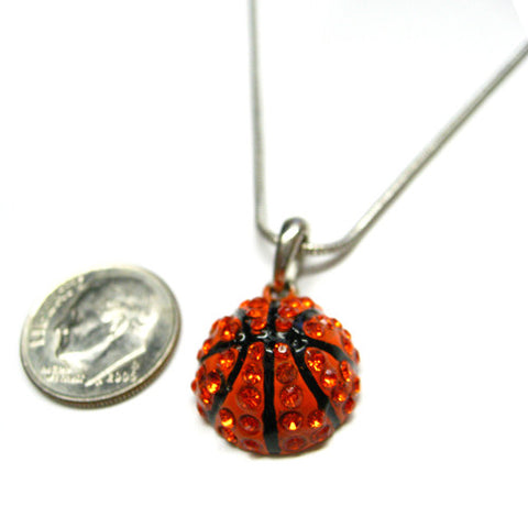 Basketball Necklace - All That Glitters