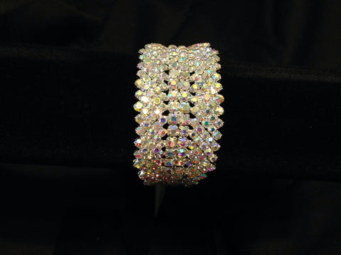 Crystal Cuff Bracelet - All That Glitters