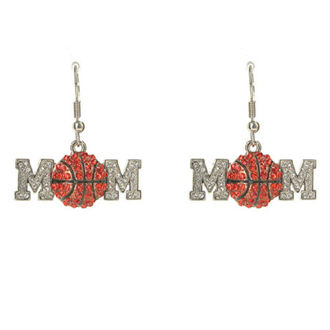 Basketball Mom Earrings - All That Glitters