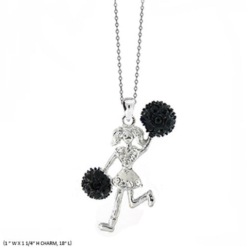 PomPom Pendant Necklace - All That Glitters - 2
