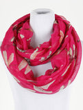 Dragonfly Print Infinity Scarf - All That Glitters - 2