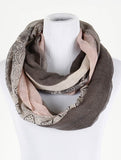 Paisley Print Infinity Scarf - All That Glitters - 1