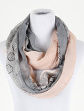 Paisley Print Infinity Scarf - All That Glitters - 2