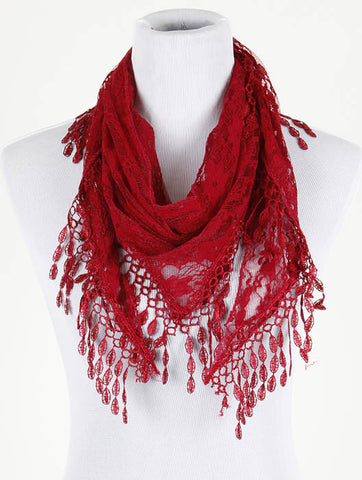 Lace Shawl Scarf - All That Glitters
