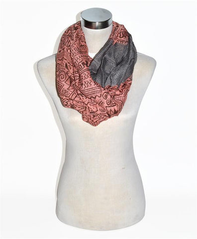 Print Infinity Scarf - All That Glitters - 3