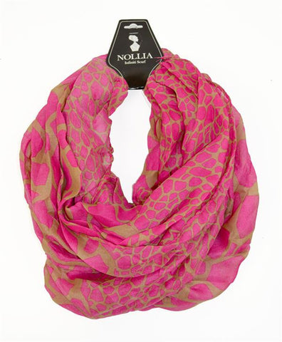 Print Infinity Scarf - All That Glitters - 4