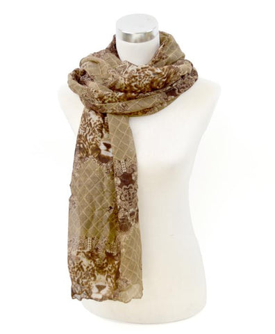 Print Oblong Scarf - All That Glitters - 2