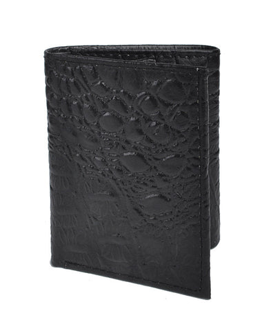 Men's Leather Tri-Fold Wallet - All That Glitters - 1