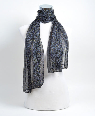 Ladies Polyester Scarf - All That Glitters - 2