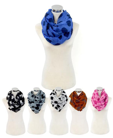 Dots Infinity Scarf - All That Glitters - 1