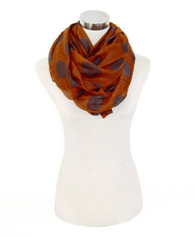Dots Infinity Scarf - All That Glitters - 5