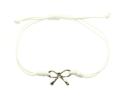 Bow String Bracelet - All That Glitters