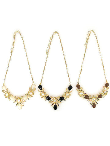 Flower Necklace - All That Glitters