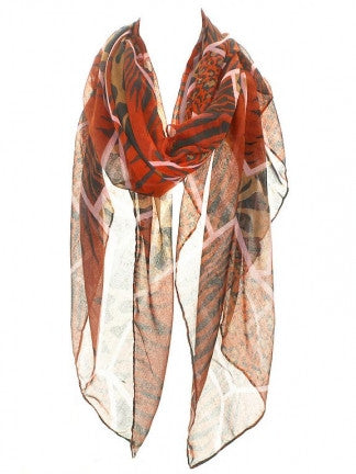 Animal Print Scarf - All That Glitters