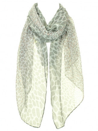 Leopard Print Scarf - All That Glitters - 1