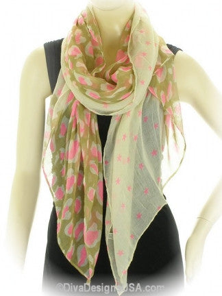 Animal Print Scarf - All That Glitters - 1