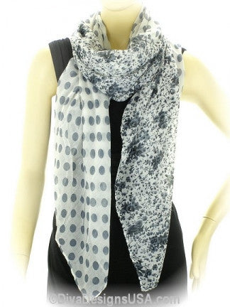 Floral Print Scarf - All That Glitters
