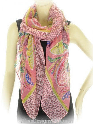Paisley Print Scarf - All That Glitters