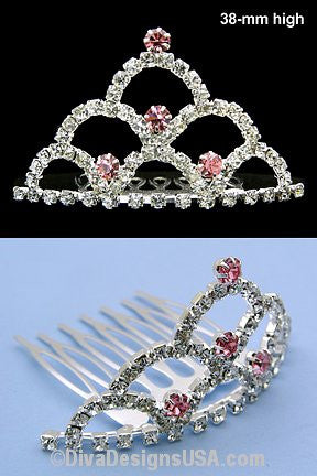 Small Tiara Comb - All That Glitters - 1