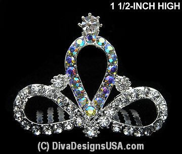 XSmall Tiara Comb - All That Glitters - 1