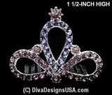XSmall Tiara Comb - All That Glitters - 4