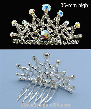 Small Tiara Comb - All That Glitters