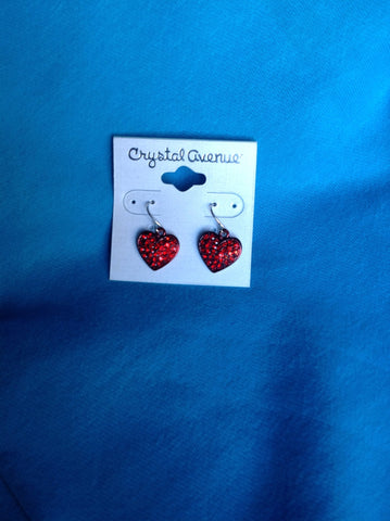 Valentine Fish Hook Earrings - All That Glitters