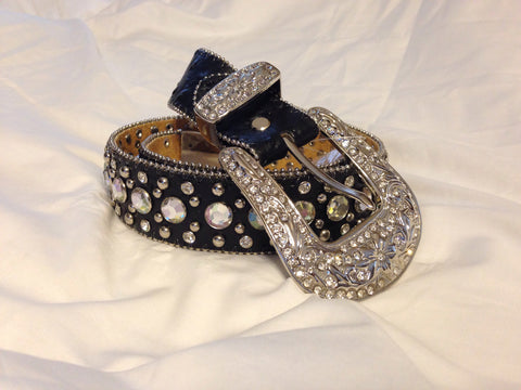 Western Style Rhinestone Belt - All That Glitters
