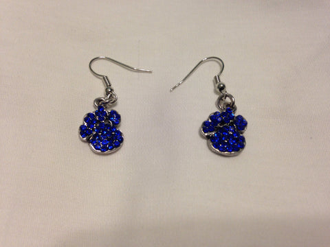 Paw Print Dangle Earrings (XS) - All That Glitters