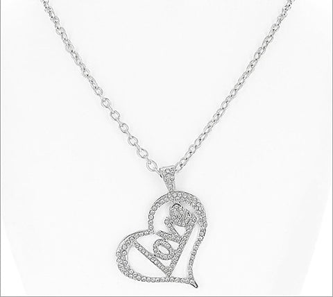 Love Charm Necklace - All That Glitters