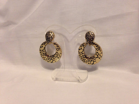 Gold And Black Earrings - All That Glitters