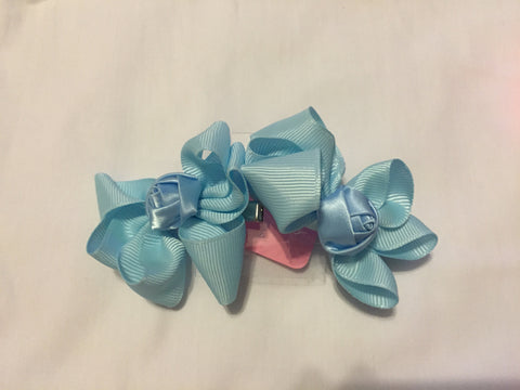 Flower Hair Bow Set - All That Glitters - 3