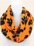 Paw Print Infinity Scarf - All That Glitters - 4