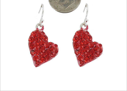 Artist Design Heart Earrings - All That Glitters