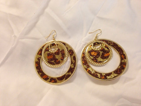 Twinkle Animal Print Earrings - All That Glitters
